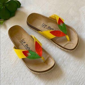 Betula Birkenstock Spring Sandals Size 38 or 7/8
